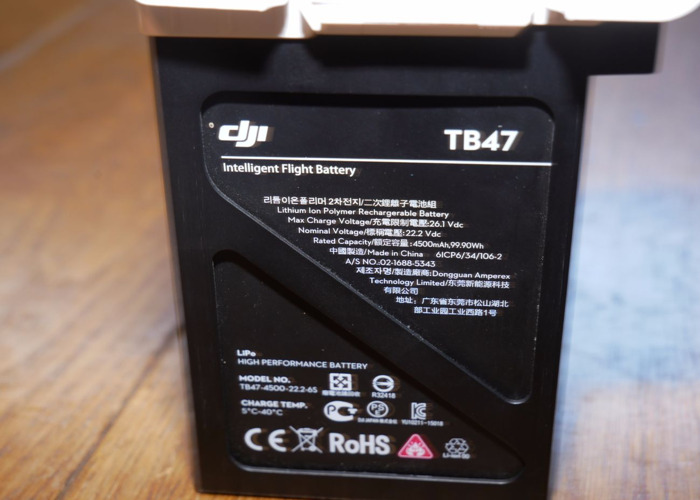 TB47 DJI Inspire Battery with Charger - 1