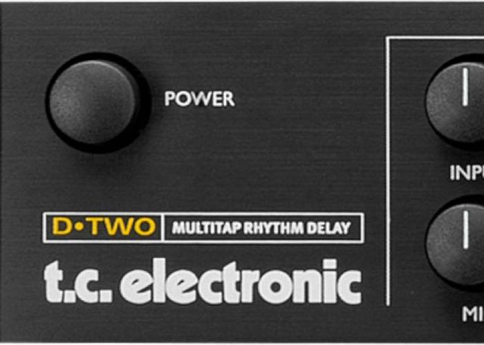 TC Electronic D-Two Multitap Rhythm Delay - 1
