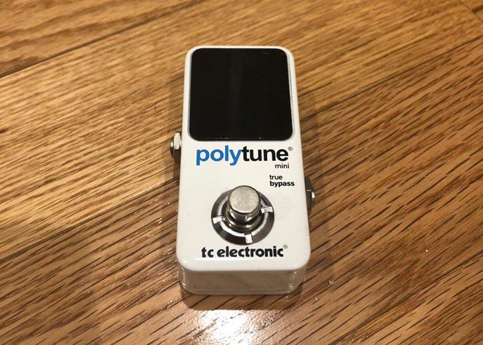 Tc Electronic Polytune Mini (Guitar Tuner Pedal) - 1