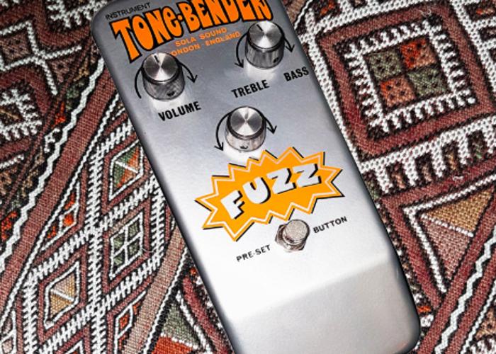 TC TONE BENDER BY JAKE ROTHMAN Fuzz Box - Distortion Unit - 1