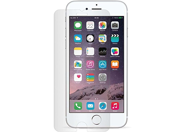 Tech-Guard Flat Glass Screen Protector for iPhone 7 Plus - Clear - 1
