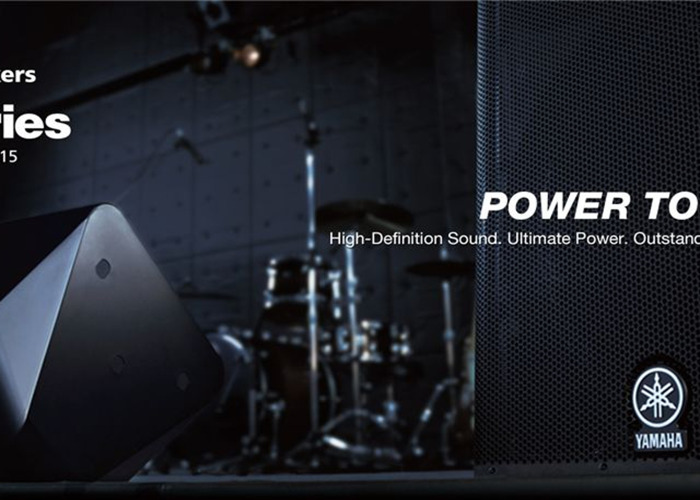 Technician + Yamaha DXR15 active PA system with 12 track digital mixer, mics and stands - 2