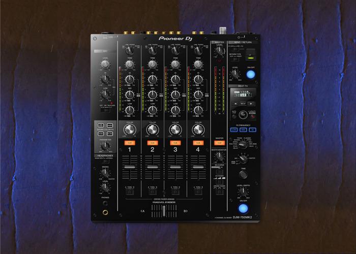 Technics 1210 MK2 Pioneer Mixer djm-750mk2 - 2