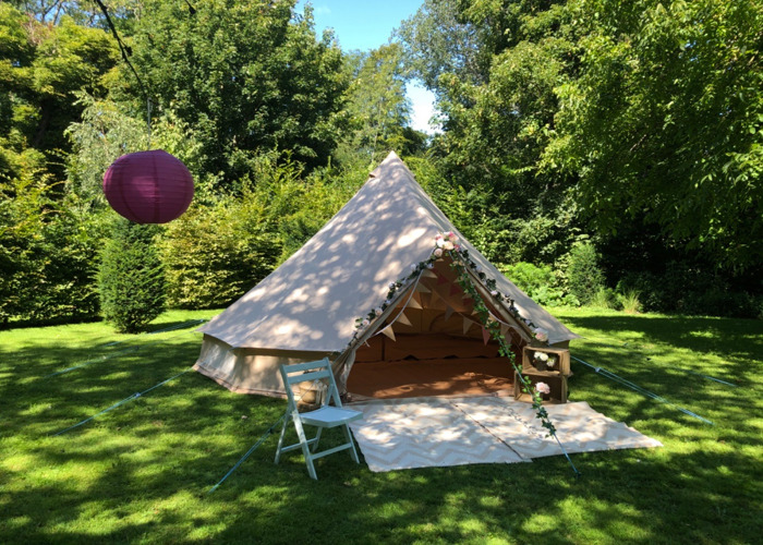 Teepee/Bell Tent 5m for Hire  - 1