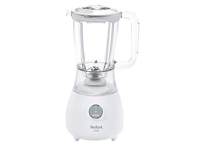 Tefal BL2201B4 Uno Blender, 1.25L Plastic Jug with Pulse Function - White - 1