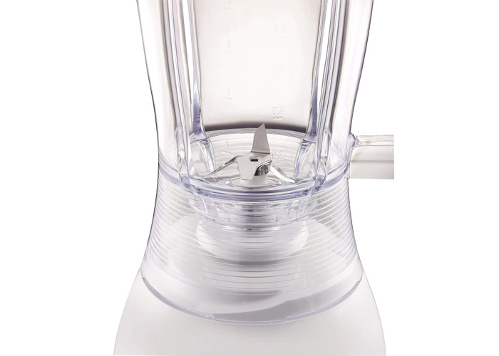 Tefal BL2201B4 Uno Blender, 1.25L Plastic Jug with Pulse Function - White - 2