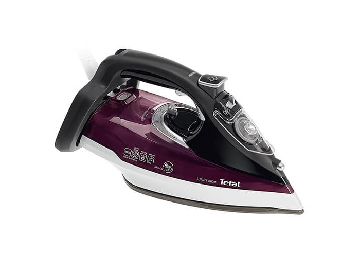 Tefal FV2661 Ultraglide Anti-Scale Steam Iron, 2400 Watt, Purple/White - 1