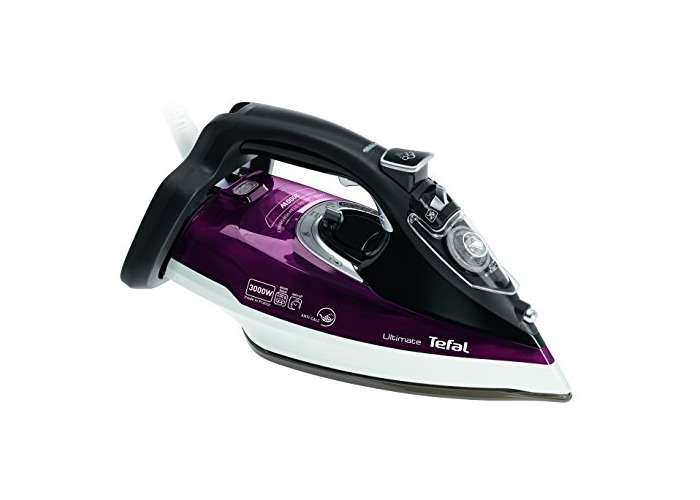 Tefal FV9788 Ultimate Anti Scale Steam Iron, 2800 W, 3000 Watt, Dark Red - 1