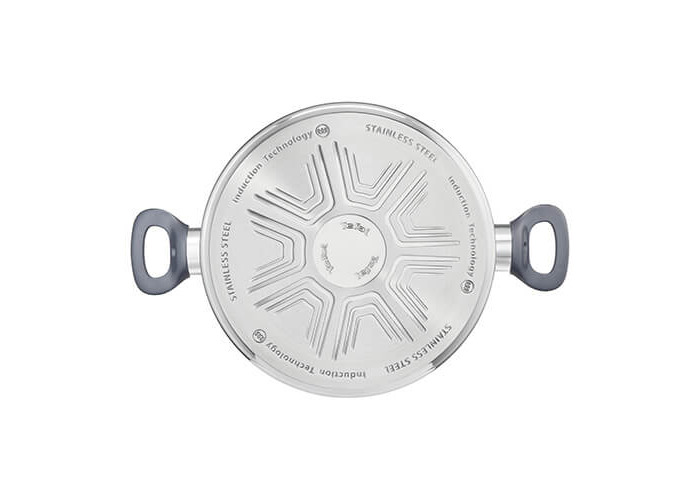 Tefal g7124614 dailycook Saucepan All Heat Sources Including Induction, Stainless Steel, Stainless Steel Lid, 24 cm - 1