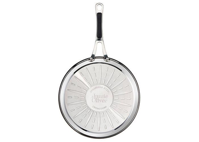 Tefal Jamie Oliver Stainless Steel Premium Series Non-Stick Frypan, 28 cm - 2