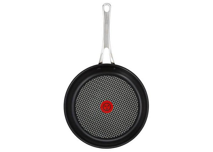 Tefal Jamie Oliver Stainless Steel Premium Series Non-Stick Frypan, 28 cm - 1