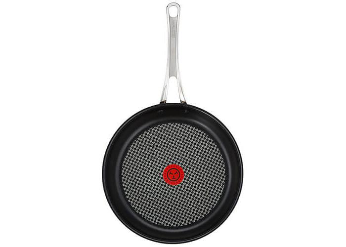 Tefal Jamie Oliver Stainless Steel Premium Series Non-Stick Frypan, 30 cm - 1