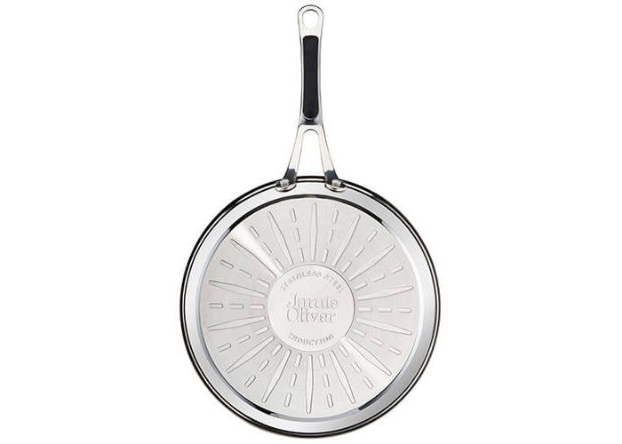 Tefal Jamie Oliver Stainless Steel Premium Series Non-Stick Frypan, 30 cm - 2