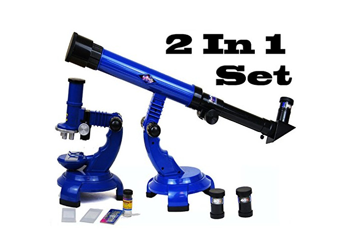 Telescope and Microscope Set by Padgett - 1