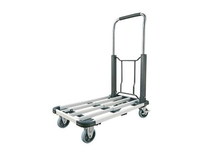 telescopic aluminium sack trolley - 1