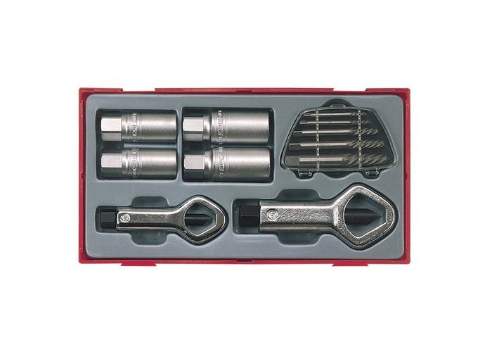 Teng TC29 TTSN11 11 Piece Stud & Nut Remover Set - 1