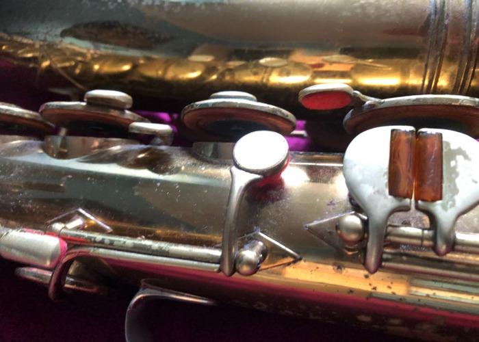 Tenor saxophone Buescher Aristocrat Art Deco - 2