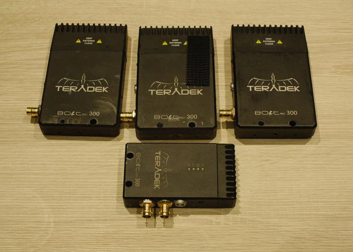Teradek Bolt Pro 300 (3x Receiver & 1x Transmitter) - 1