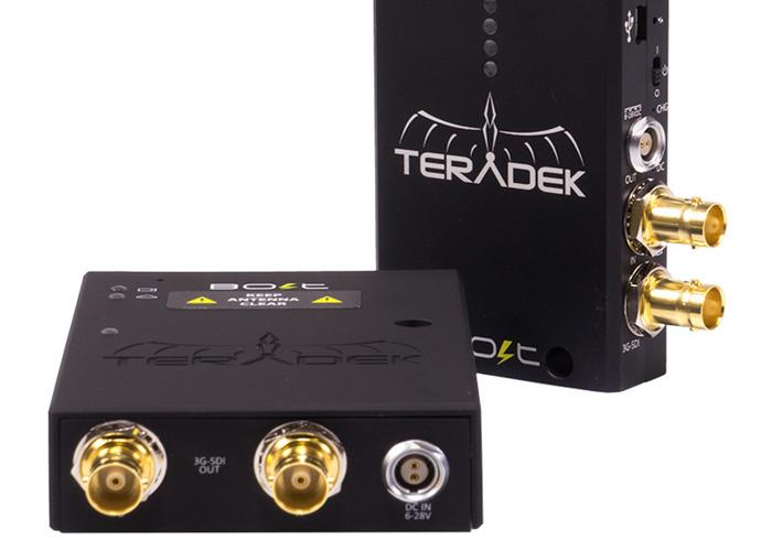 Teradek Bolt Pro SDI Transmitter & 2 Receivers - 2