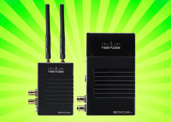 Teradek Bolt XT 500 3G-SDI / HDMI Transceiver Set - 1