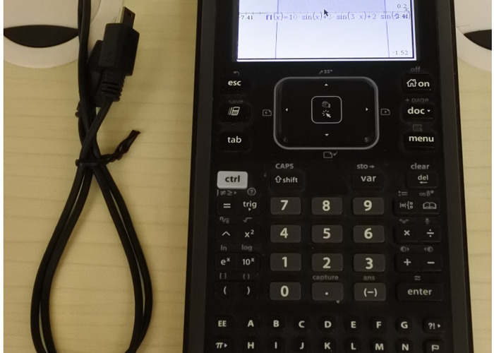 Texas Instruments Nspire CX CAS Colour Graphing Calculator  - 1