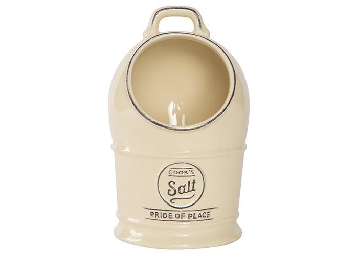 T&G Pride Of Place Salt Jar Old Cream - 1