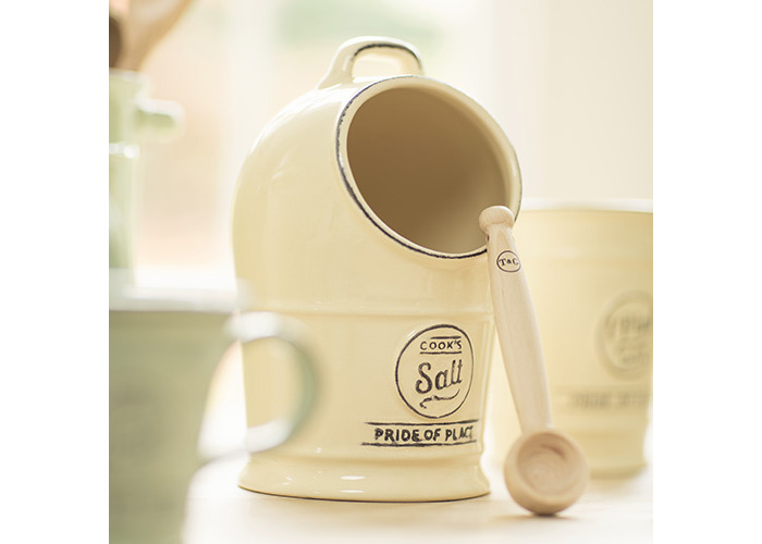 T&G Pride Of Place Salt Jar Old Cream - 2