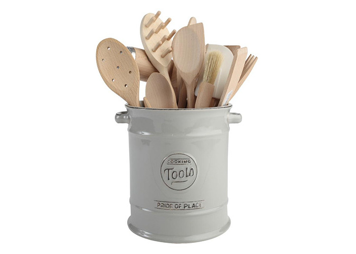 TG Pride of Place Utensil Pot In Cool Grey - 1