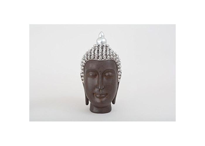 Thai Buddha Head Figurine Decorative Ornament Gift Idea - 1