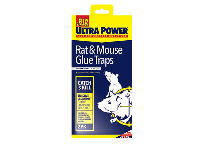 The Big Cheese RTU Rat & Mouse Glue Trap Pack Of 2 - 1