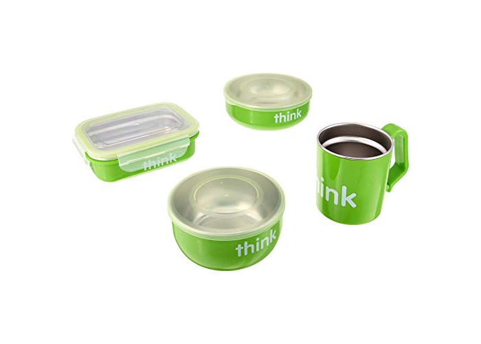 The Complete BPA-Free Feeding Set, Light Green thinkbaby 1 Kit - 1
