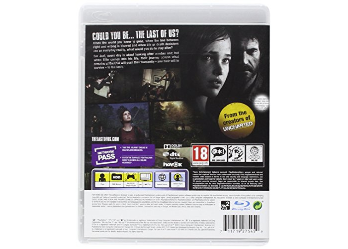 The Last of Us (PS3) [video game] - 2