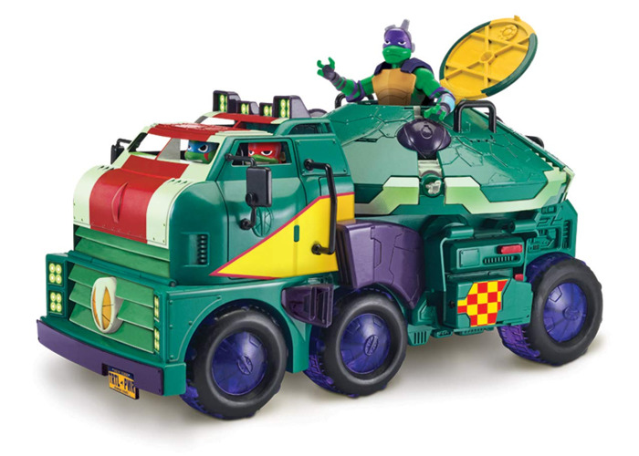 The Rise of The Teenage Mutant Ninja Turtles - Turtle Tank - 2
