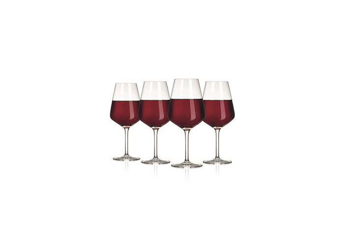 The Wine Show Wine Glass Red Set Of 4 - 1
