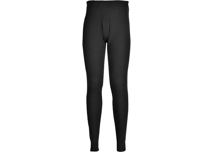 Thermal Trousers  Black  Large  R - 1