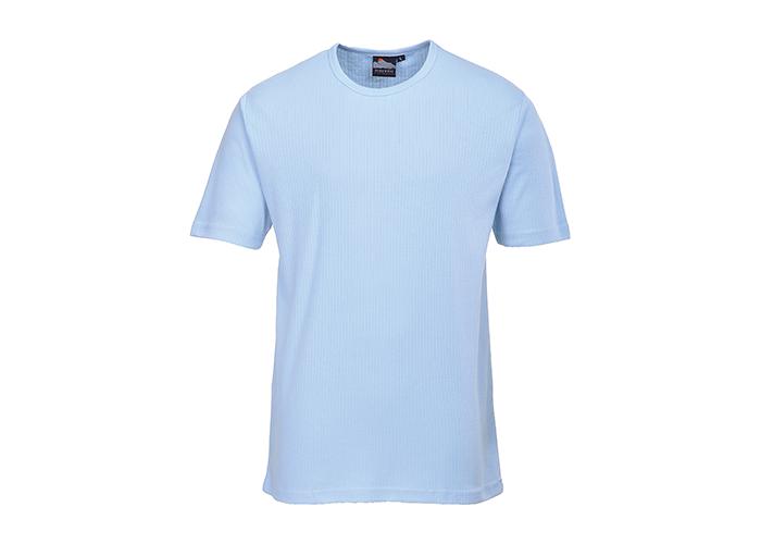 Thermal T-Shirt S/S  Sky  XXL  R - 1