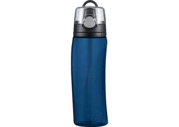 Thermos Hydration Water Bottle with Meter, Midnight Blue, 710 ml - 1