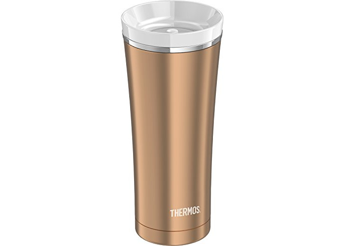 Thermos Stainless Steel Travel Tumbler, Rose Gold, 470 ml - 2