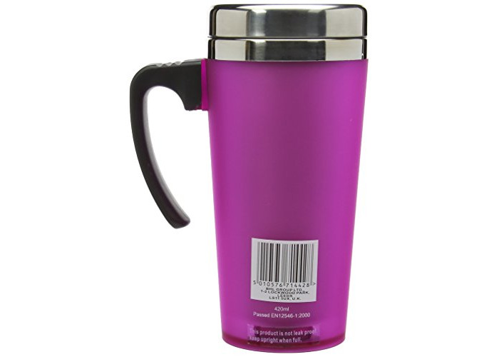 Thermos ThermoCafé Soft Touch Travel Mug, Pink, 420 ml - 2