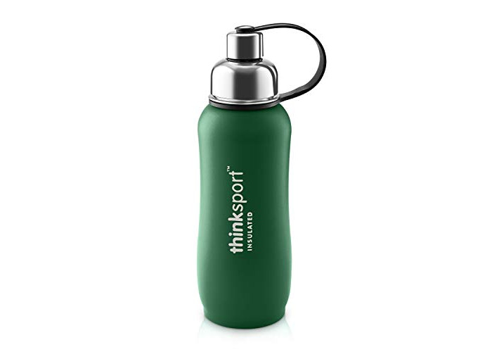 Thinksport 750Ml Insulated Sports Bottle, Green, 25 oz - 1