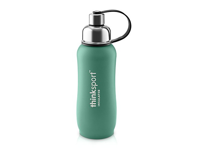 Thinksport 750Ml Insulated Sports Bottle, Green, 25 oz - 2