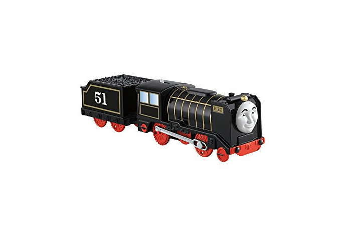 Thomas & Friends BMK89 Hiro, Thomas the Tank Engine Toy Engine, Trackmaster Toy Train, 3 Year Old - 1
