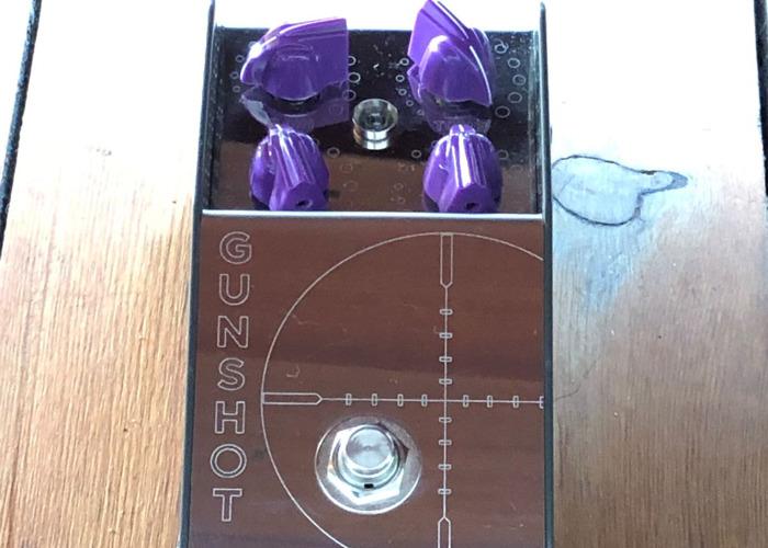 Thorpy Gunshot Overdrive Guitar Effects Pedal - 1