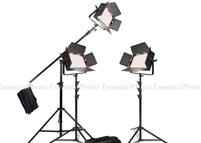 Two Bicolour Continuous Lighting Kit Video Lights BC - 1