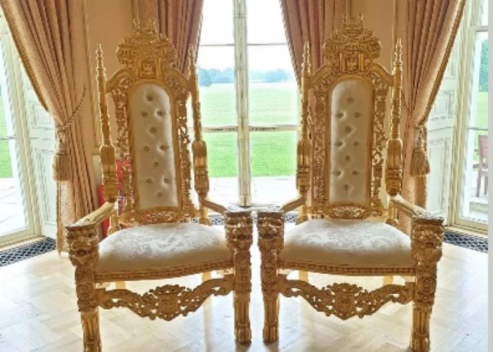 Throne Chair Hire  - 1