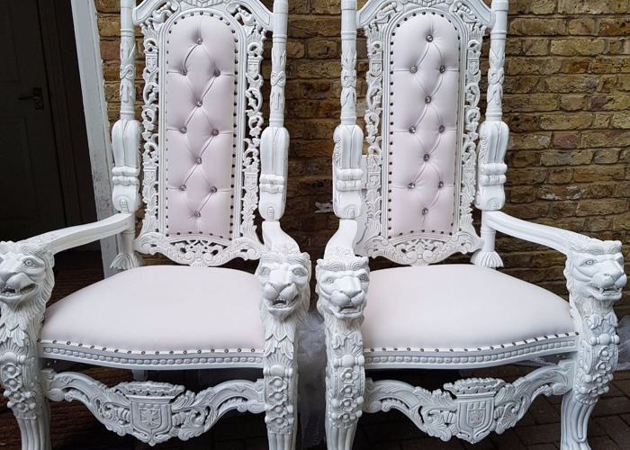 Throne Chairs, Round Tables, Chair hire, Led Dancefloors - 1