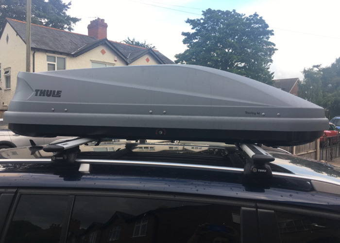 Thule 400L roofbox hire by the week - 1