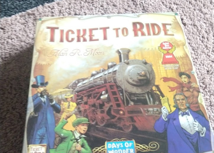 Ticket to Ride Board Game - 1