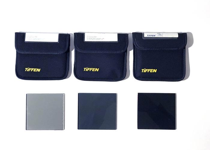 Tiffen ND 4x4 Filter Set 0.3,0.6,0.9 - 1