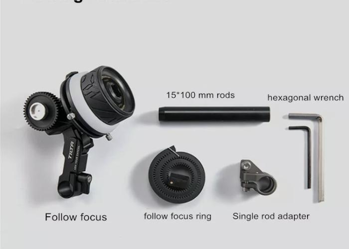 Tilta manual follow focus 15mm clamp  - 2
